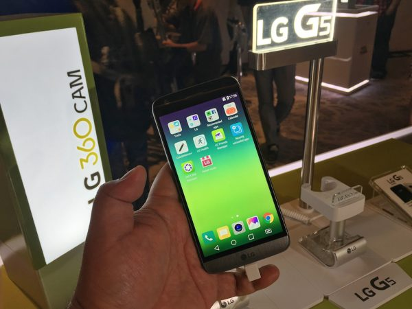 LG G5 is now in the Philippines