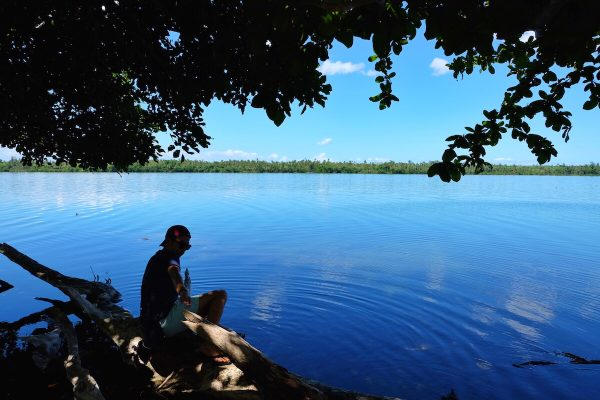 Lake Danao in Camotes Island