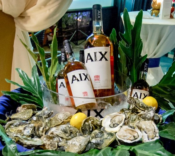 Via Mare AIX Rosé Summer Tour 2016 Wines and Oysters