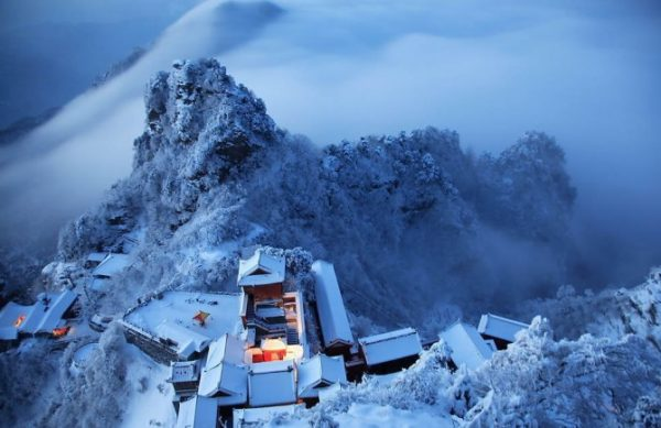 winter is probably one of the best times to visit the Wudang mountains Photo source: Global Photography (http:::en.g-photography.net)