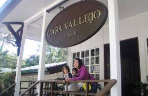 Casa Vallejo's historical entrance