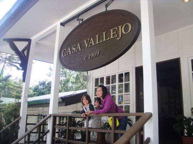Casa Vallejo's historical entrance
