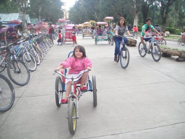 Cycling for everyone along the bicycle streets in the park