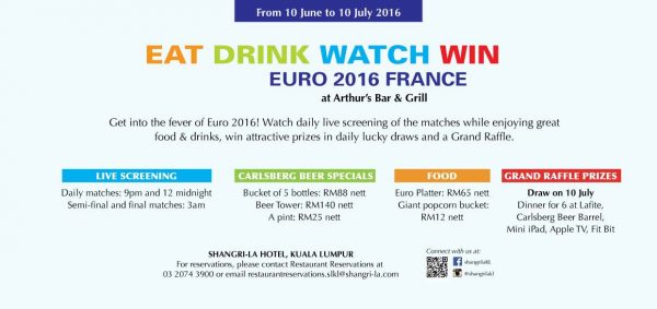 Live Screening of Euro 2016