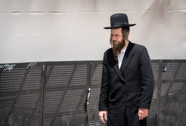 Men with sideburns in Israel