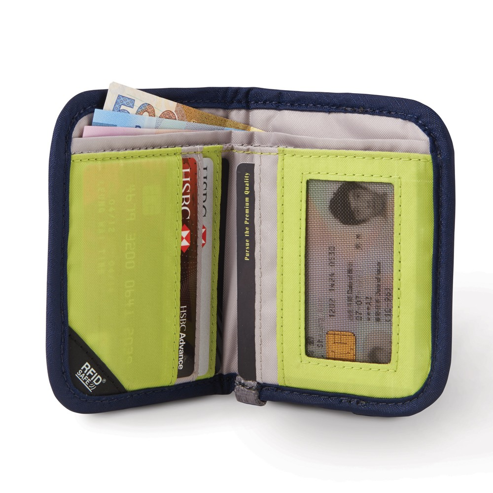 be2b5c1fa4c Product Review: Pacsafe RFIDsafe V50 RFID blocking compact wallet ...