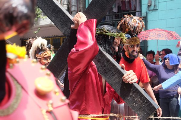 Passion of the Christ Parade in Boac