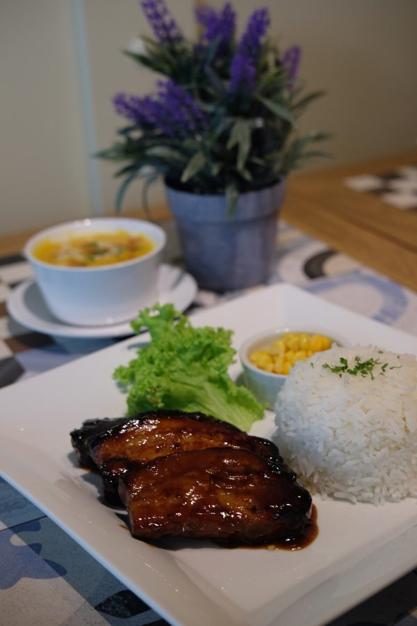 Pork Belly with Hickory BBQ Sauce