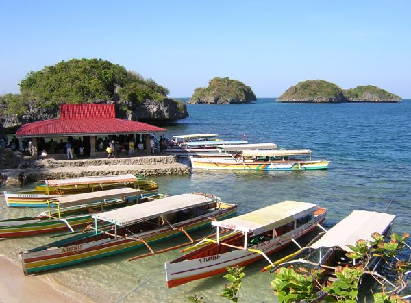 Quezon Island is one of the few developed tourist locations on Hundred Islands in Alaminos