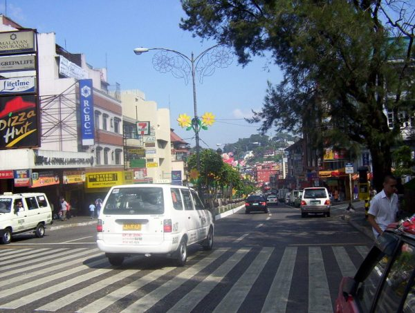 Session Road in Baguio City