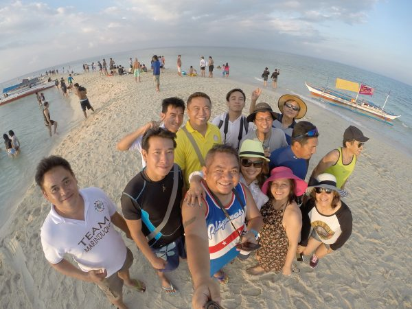 Stopover at Palad Sandbar