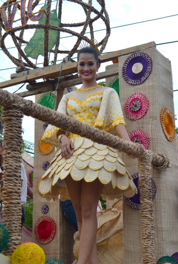fine clothing made from abaca fiber