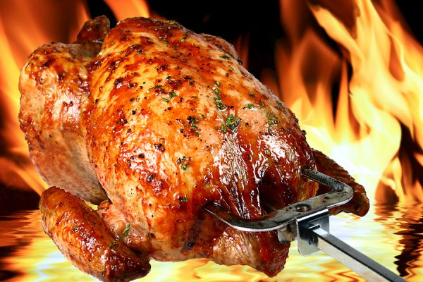 delicious roasted chicken