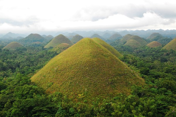 Chocolate Hills in BoholBohol in Less Than 15 Hours