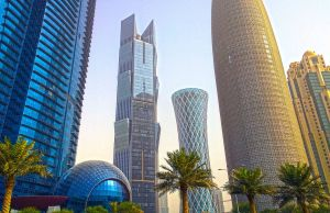 Doha's West Bay area