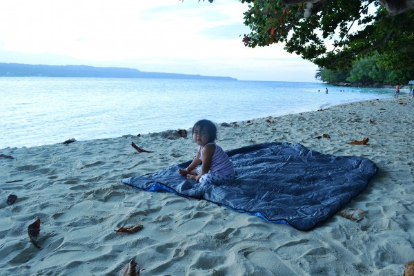 Hanging out at Isla Reta Beach Resort in Talicud Island