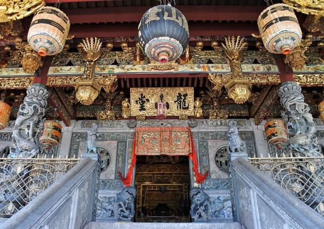 Khoo Kongsi Temple Facade