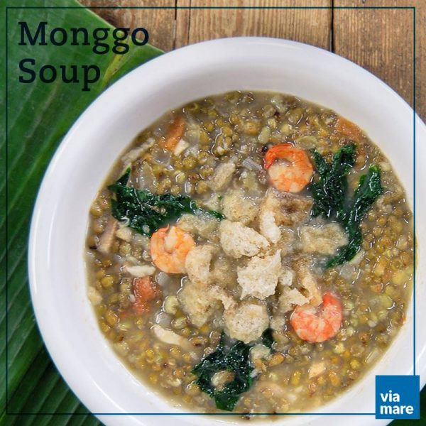 Sumptuous Monggo Soup by Via Mare