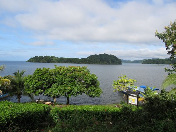 The Solentiname Islands are tropical islands located in Lake Nicaragua