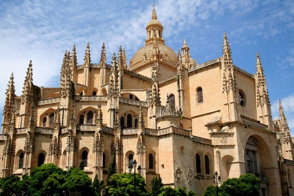 A Cathedral in Segovia Spain