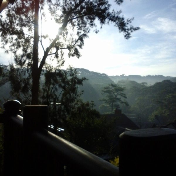 A captivating panorama from the balcony of Azalea Baguio's all-suite rooms