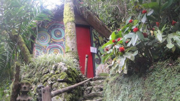 Agape, one of the Ifugao Huts with a private bathroom