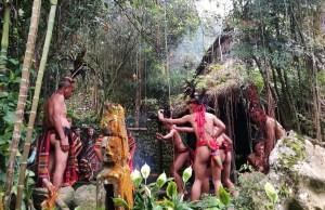 Igorot Cultural Performers at Tamawan Village