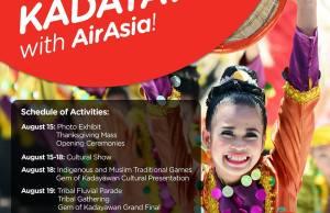 Kadayawan Festival 2016 with AirAsia