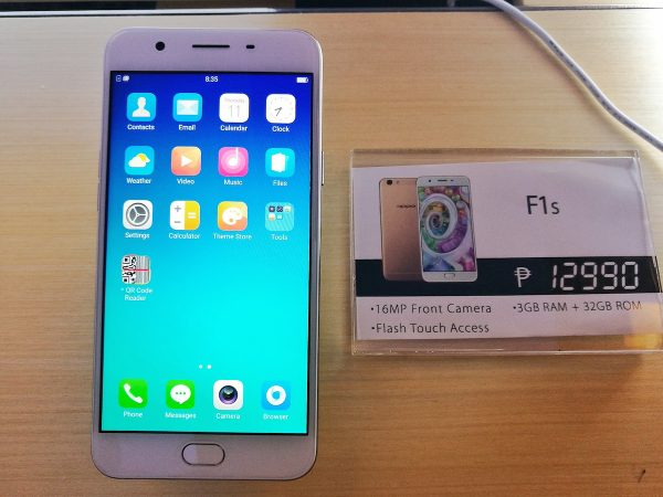 Oppo F1s Price in the Philippines