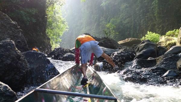 Shooting the Rapids in Pagsanjan