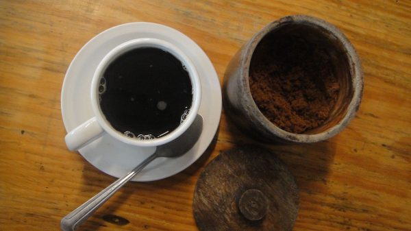 The village's signature coffee boost with muscovado