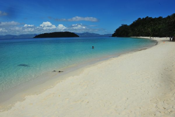 Tiamban White Sand Beach in Romblon