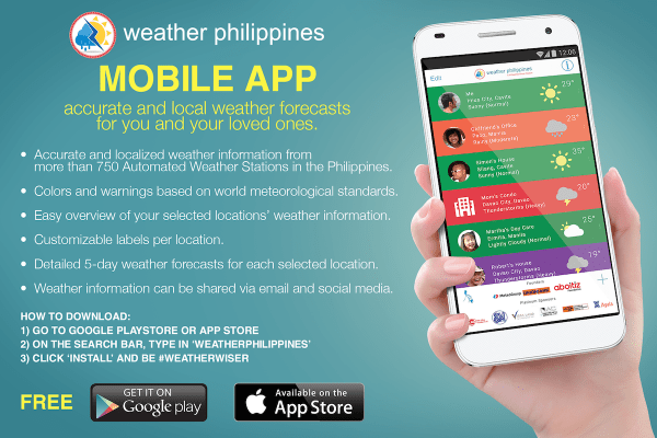 Weather Philippines Mobile App