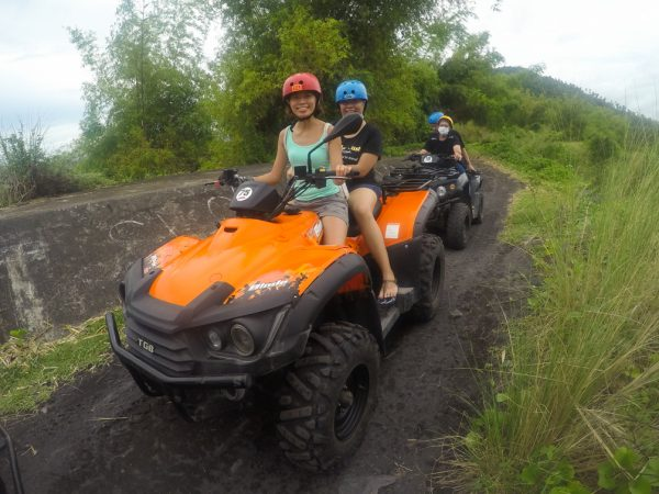 start of the ATV ride to the Mayon basecamp
