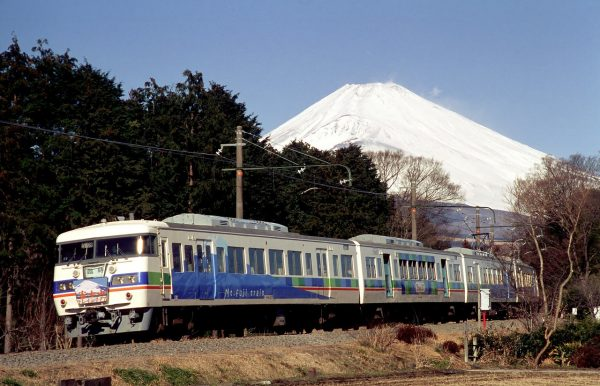Railway in Mount Fuji