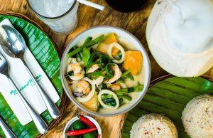Seafood Kalabasa at Malunggay sa Gata by Coconut House fb page