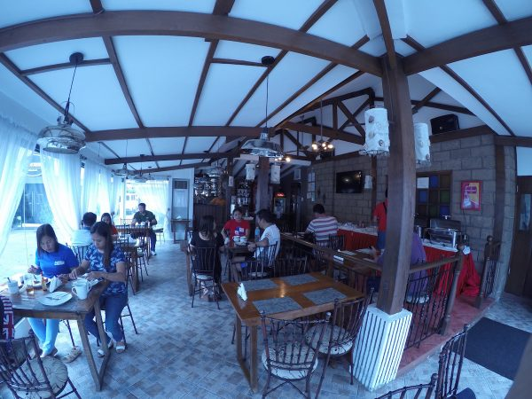 Socsargen Grill serves breakfast for guests and is open for lunch and dinner for other patrons