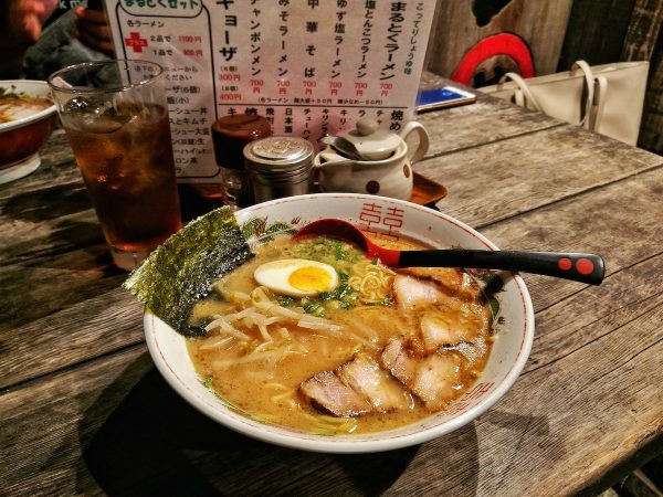 Eating Ramen in Japan
