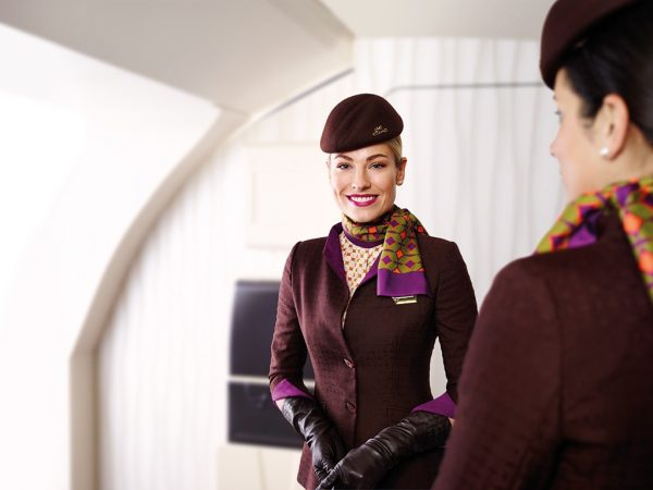 Etihad Flight Attendants