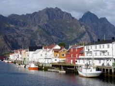 Henningsvaer in the Lofoten islands