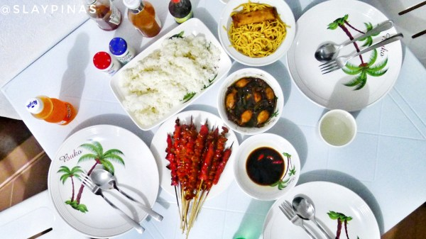 Local Filipino carenderia foodtrip flatlay