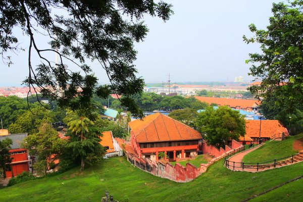 Overlooking the Historic City of Malacca
