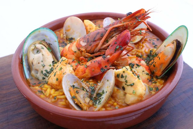 Seafood Arroz Caldoso