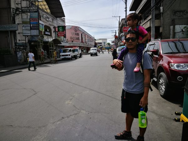 Strolling around Davao City downtown