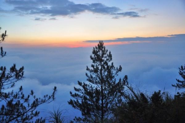 Sunrise in Kiltepan Viewpoint
