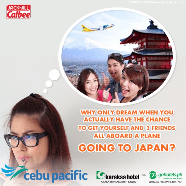 Win an all-expenses-paid trip to Tokyo Japan