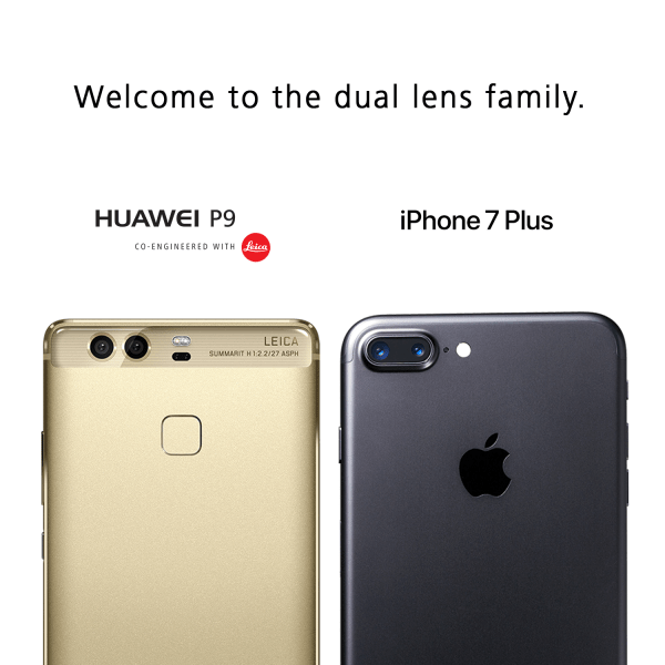 Huawei P9 or iPhone 7