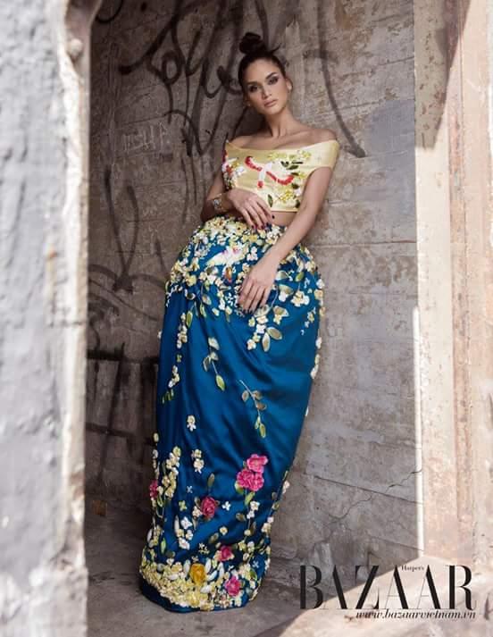 Pia Wurtzbach for Harper's Bazaar Vietnam