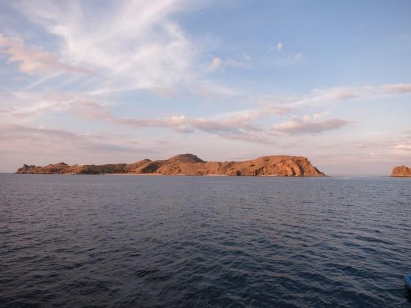 Trekking in Rinca Island