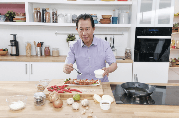 Chef Martin Yan for Asian Food Chanel